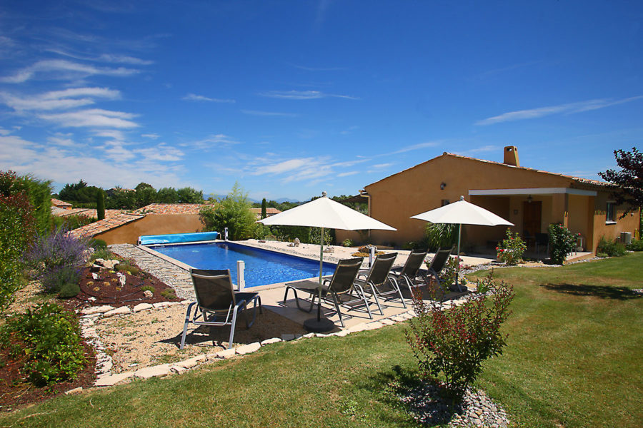 Piscine privative Les Restanques de Beaudine | Haute Provence