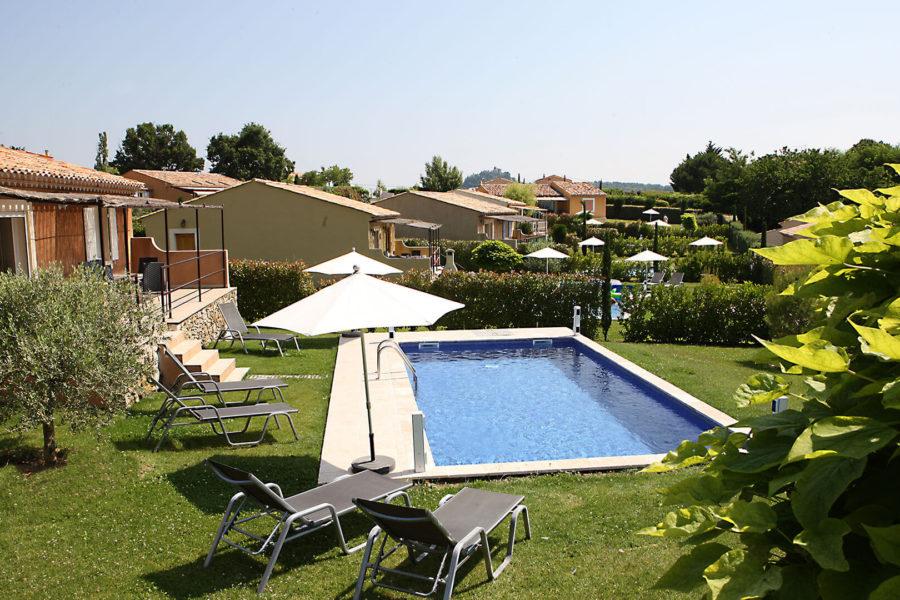Location vacances Provence | Villa les coquelicots | Piscine chauffée