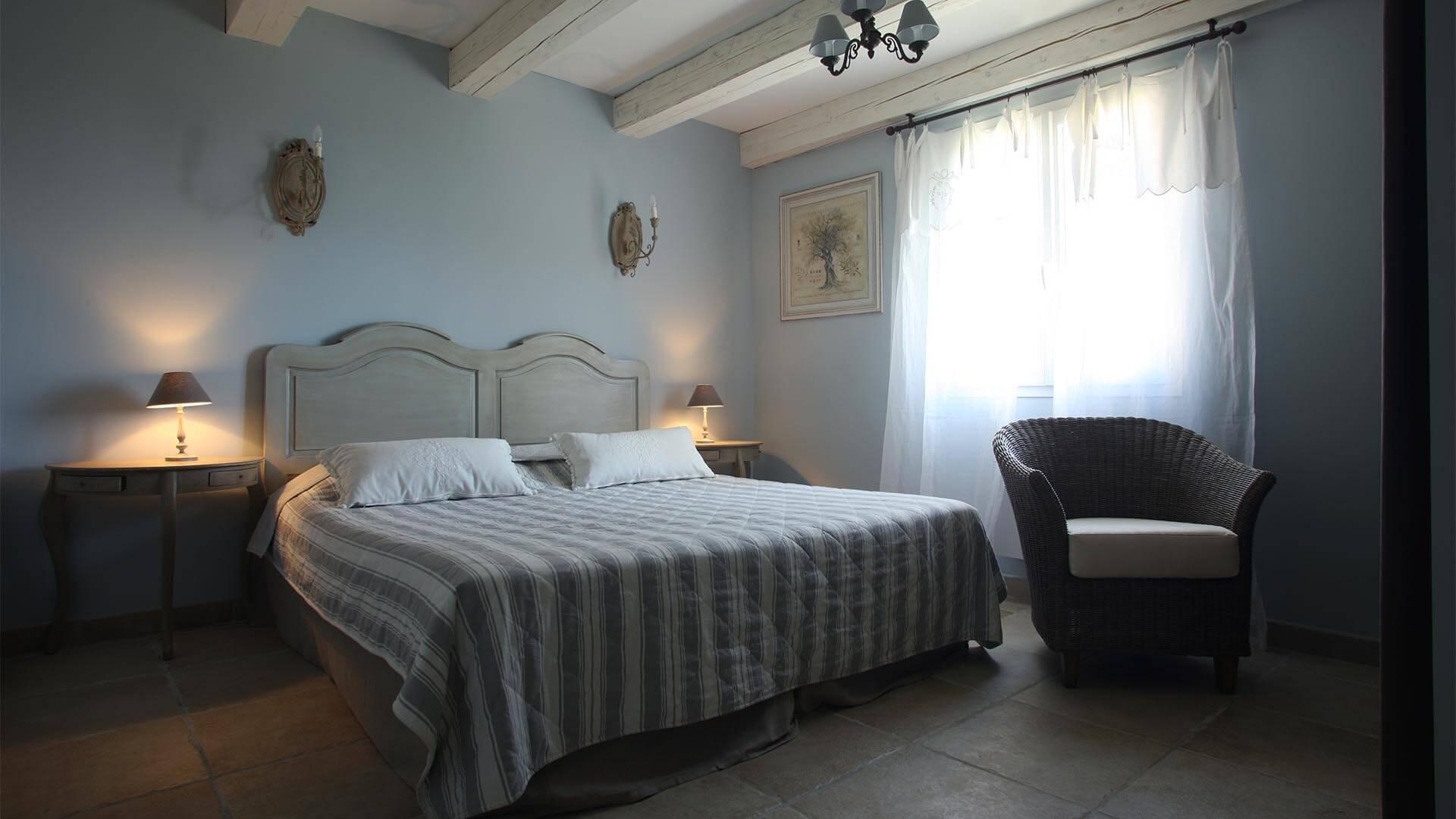 Location vacances Forcalquier | Villa le mûrier blanc | Chambre lit double
