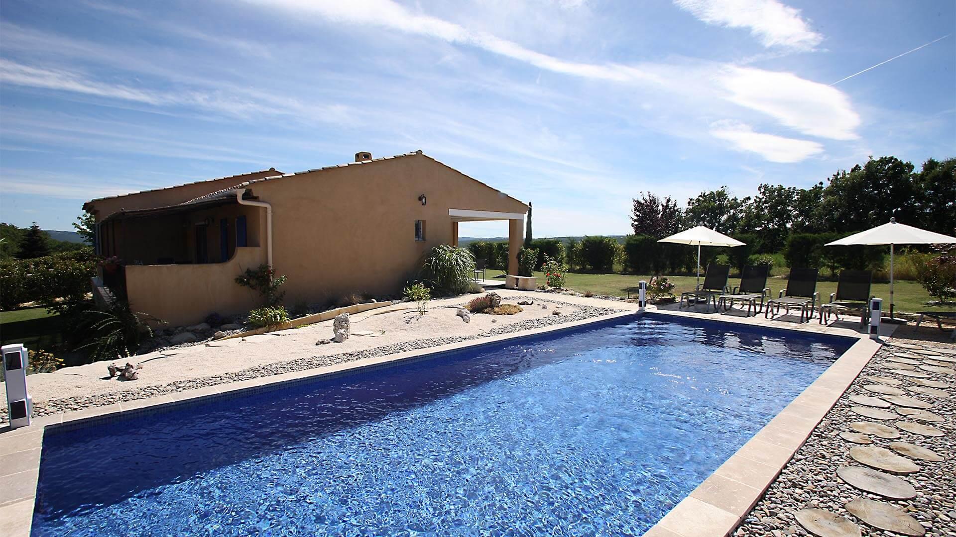 Villa à louer vacances 04 | Villa terre d'ocre | Piscine