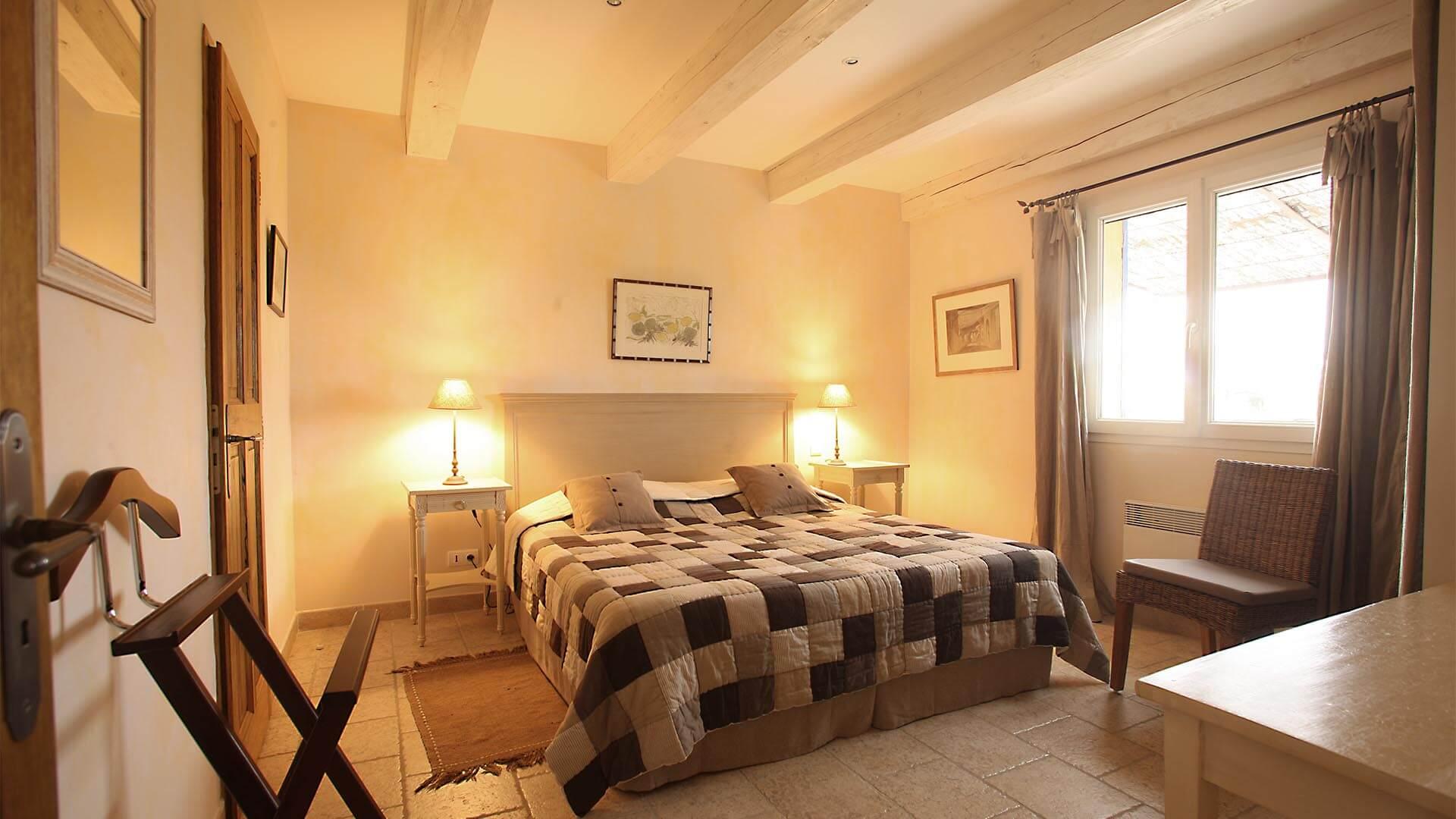 Louer maison de vacances Luberon | Villa terre d'ocre | Chambre double