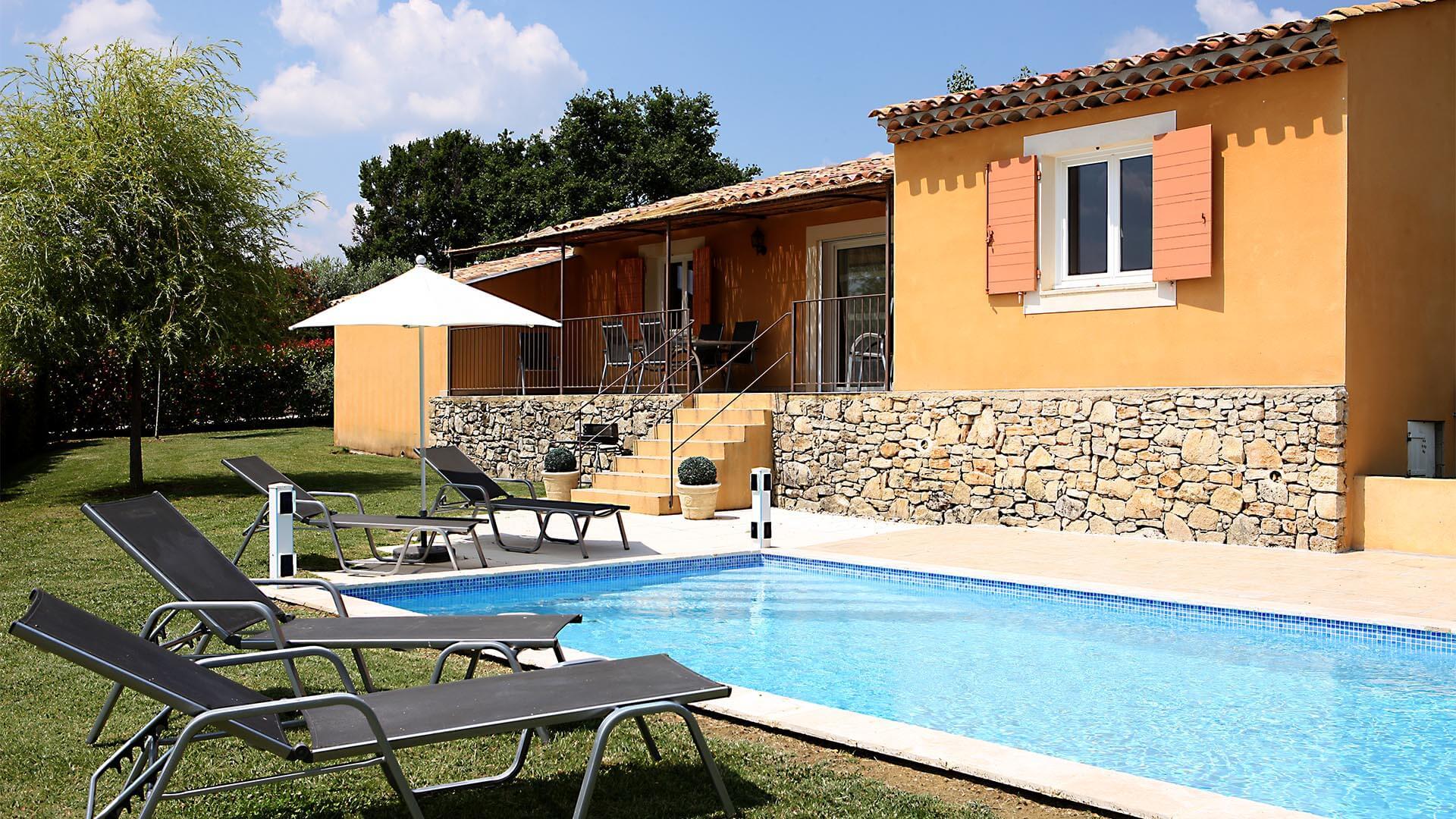 Maison de vacances à louer 04 | Villa les oliviers | Jardin et piscine