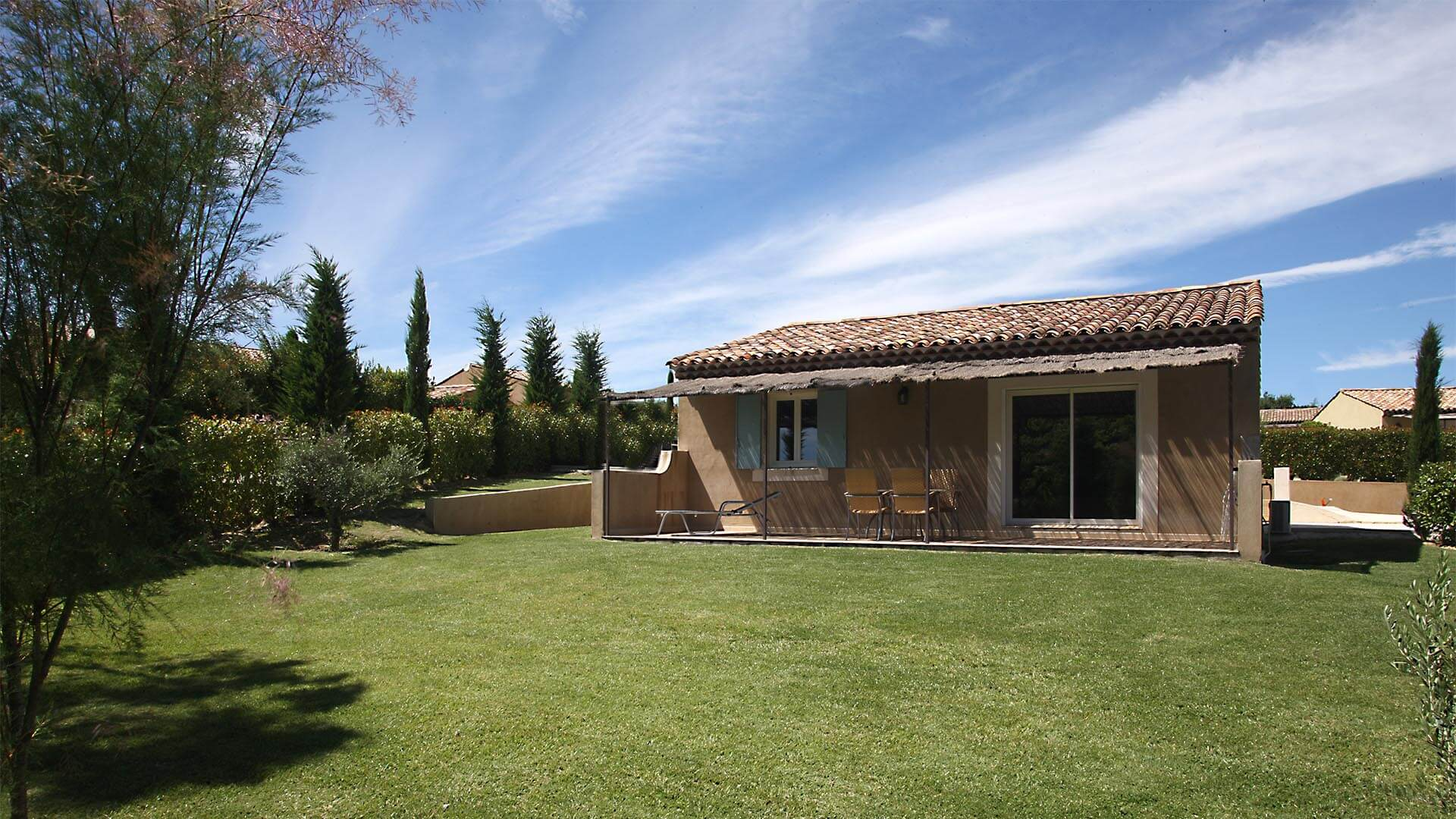 Location maison de vacances Provence-Alpes-Côte d'Azur | Villa sous la tonnelle | Terrasse avec jardin