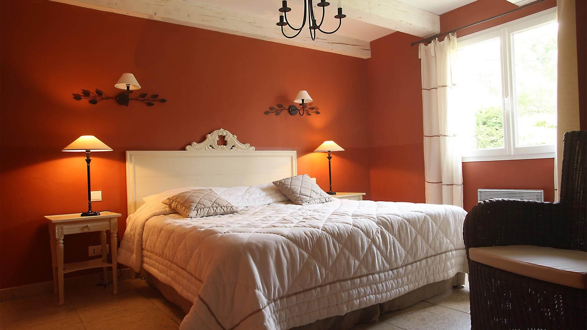 Maison de vacances à louer Haute Provence | Villa les oliviers | Chambre double