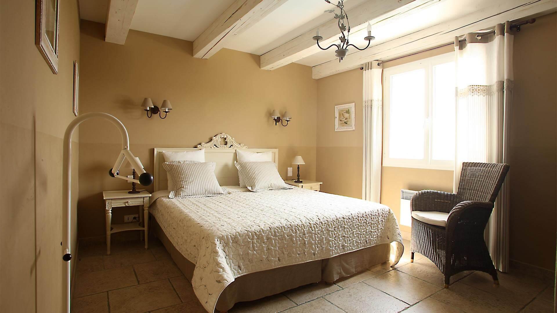 Location villa de vacances Luberon | Villa les oliviers | Chambre double