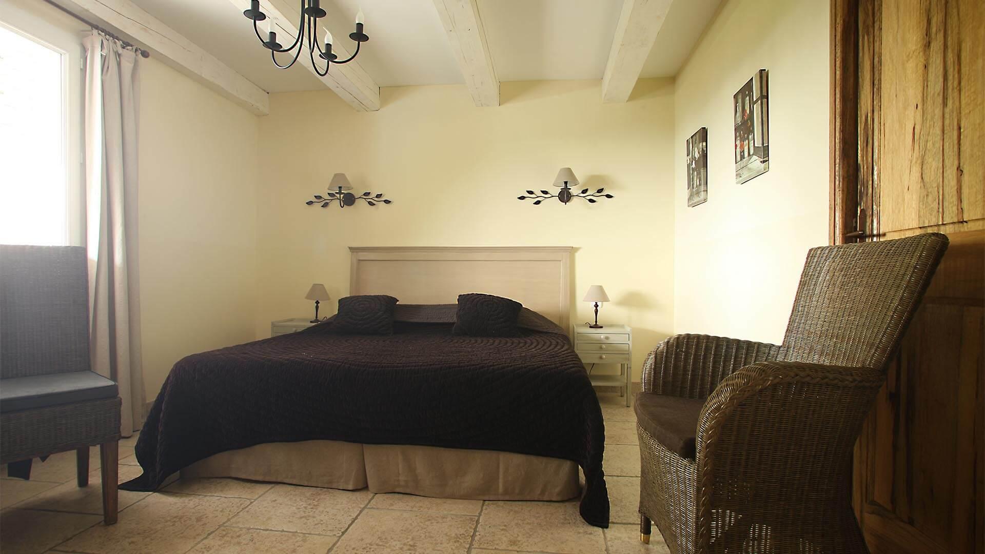 Location villa de vacances Forcalquier | Villa les oliviers | Chambre double