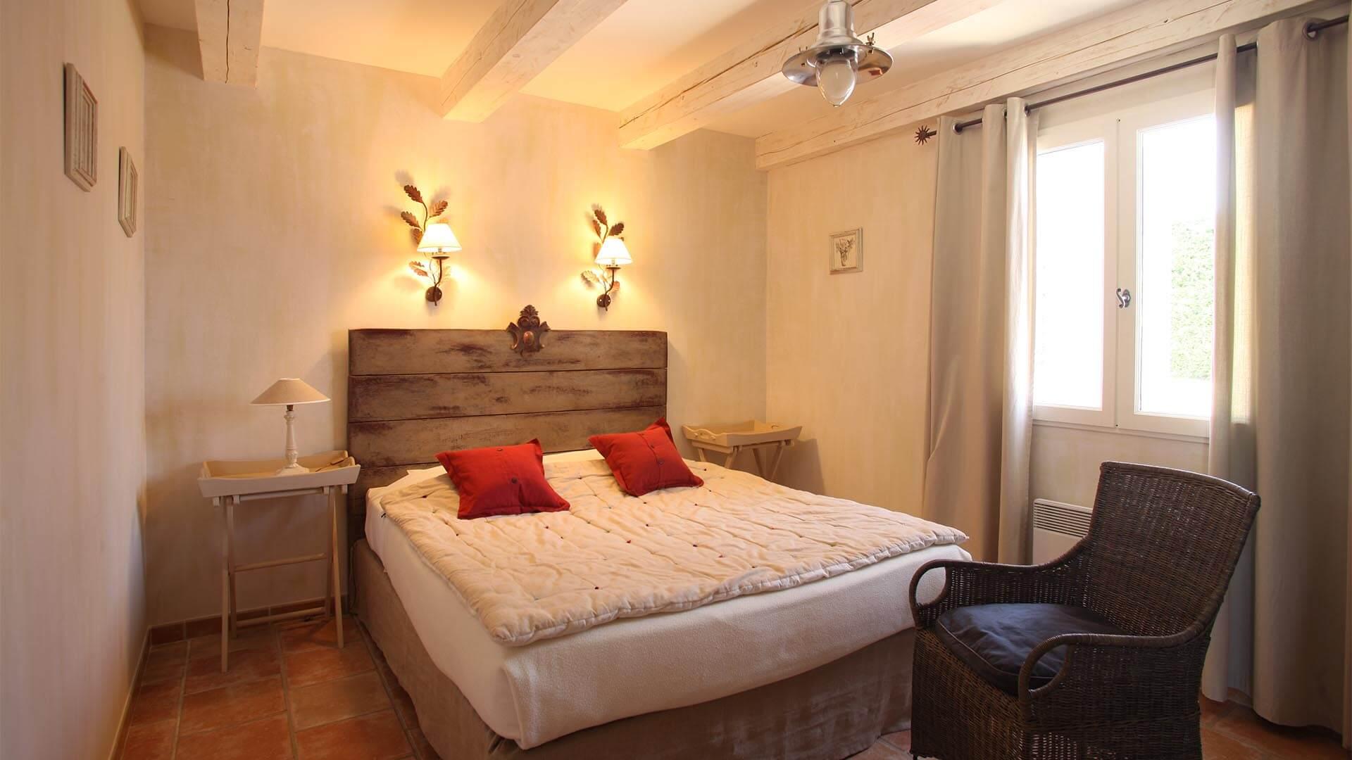 Location villa de vacances Provence-Alpes-Côte d'Azur | Villa les tournesols | Chambre lit double