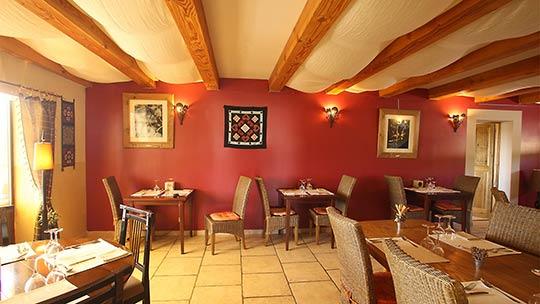 Restaurant room Les Terrasses de la Bastide | Forcalquier